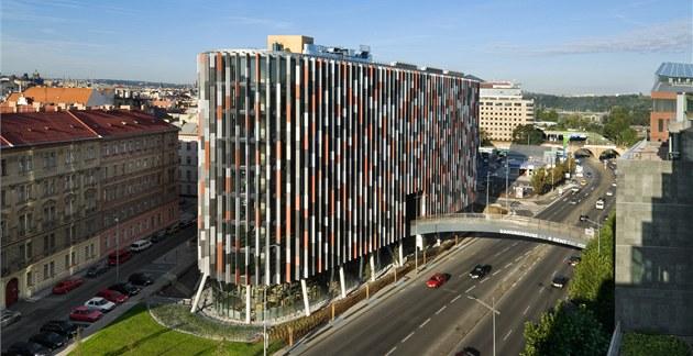 Stavba Main Point Karlin vznikla dle návrh� architektonické kancelá�e DaM...