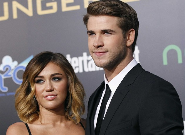 Miley Cyrusová a Liam Hemsworth