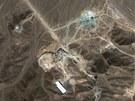 �r�nsk� za��zen� na obohacov�n� uranu pobl� m�sta Qom