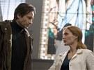 Z filmu Akta X: Chci uv��it - David Duchovny a Gillian Andersonov�
