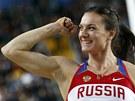 ZASE USM�VAV�. Ruska Jelena Isinbajevov� vyhr�la v Istanbulu �tvrt� titul