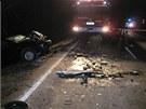 Tragická nehoda mezi Rybnou nad Zdobnicí a Vamberkem na Rychnovsku (18. března