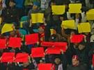 Bílá, žlutá, červená. Barvy hradeckého hokejového klubu.
