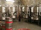 Ležácký sklep v dobrušském pivovaru