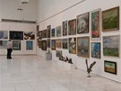 Výstavní síň Mánes v den aukce 11. března 2012