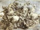 Pieter Paul Rubens: Kopie fresky Bitva u Anghiari Leonarda da Vinciho