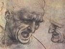 Leonardo da Vinci: studie k fresce Bitva u Anghiari