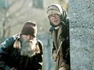 František Peterka s Ivou Janžurovou v komedii Co je doma, to se počítá