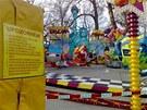 Dvě dívky se zranily na Matějské pouti při nehodě na atrakci zvané Break Dance