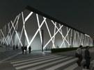 Vizualizace plánované budoucí podoby olomouckého zimního stadionu a blízkého