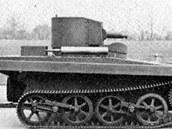 Amphibious Tank Model 1931 byl prvním obojživelným tankem, který plava díky