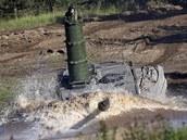Souprava pro hluboké brodění tanku Leopard 2