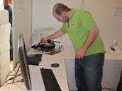 Příprava aparatury pro převod vinylových desek do digitální podoby High End