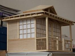 Model domku v měřítku 1:10