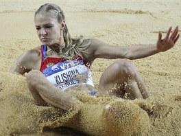 ZAMRAČENÁ. Ovšem v doskočišti se ruská dálkařka Darja Klišinová mračila. V Istanbulu skončila bez medaile.