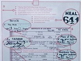 Joe Arpaio na tiskov� konferenci zpochybnil pravost rodn�ho listu Baracka Obamy
