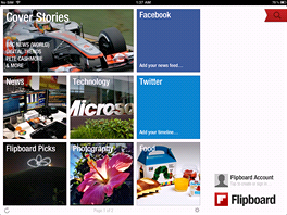 Flipboard nov� podporuje vysok� rozli�en�