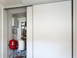 Syst�m slou��c� rekuperaci tepla je spolu s geoterm�ln�m za��zen�m velmi