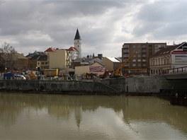 Archeologové odkryli na stavbě Tyršova mostu v Přerově základy raně...