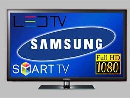Chytrý televizní přijímač Samsung