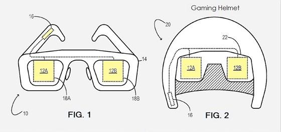Dvojice zobrazovacích zařízení v patentu od Microsoftu