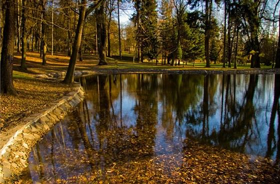 Takto budou vypadat nově vzniklé vodní plochy u Kejřova parku.