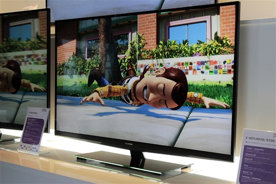 TV s integrovaným WiDi adaptérem