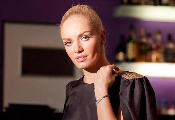 Tisková konference Schwarzkopf a Elite Model Look, kterou moderovala Taťána