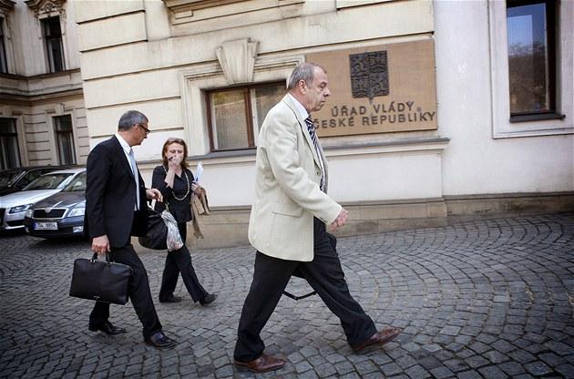 �éf �MKOS Jaroslav Zavadil opou�tí Ú�ad vlády po neúsp�ném jednání s