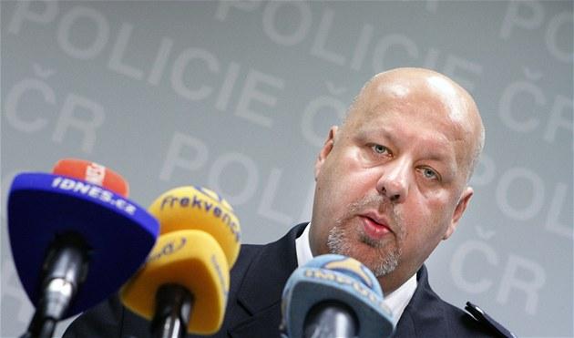 Policejní prezident Petr Lessy (27. b�ezna 2012)