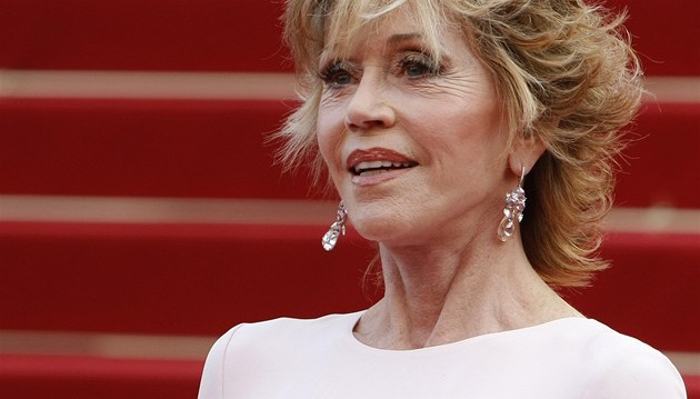 Jane Fondov&#225; na festivalu v Cannes