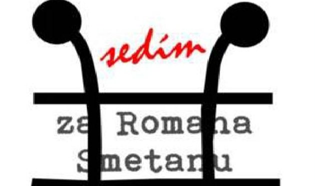 Návrh loga, které p�íznivci Romana Smetany �í�í na podporu odsouzeného �idi�e.