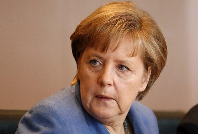 N�mecká kanclé�ka Angela Merkelová