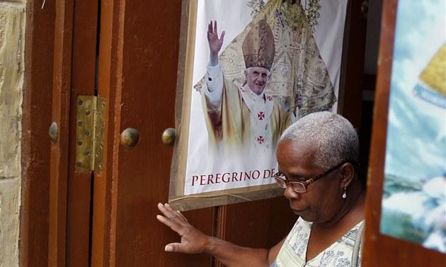 Kuba se chystala na druhý p�íjezd pape�e ve své historii d�kladn� (26. b�ezna