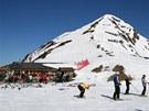 Na 2128 metrů vysoký Wiedersberger Horn musí lyžař stoupat po svých. Denně sem