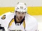 Alexandr Radulov p�i sv� obnoven� premi��e v NHL