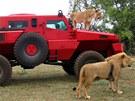 Marauder je mezi džípy skutečným lvem.
