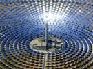 Termosolární elektrárna ve Fuentes de Andalucia nedaleko španělské Sevilly.