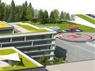 Vizualizace modernizovan�ho are�lu nemocnice v N�chod�