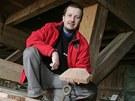 Milan Pour usiluje o záchranu staré cihelny v Šárovcově Lhotě.