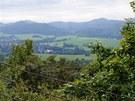 Panorama Lužických hor ze Spravedlnosti