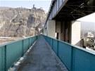 Zdymadlo pod hradem Střekov bylo svého času nejmodernějším vodním dílem ve