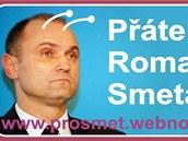 N�lepky, kter� se objevily i na n�kolika m�stech v Olomouci, vyjad�uj� podporu
