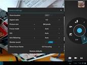 Nastaven� fotoapar�tu v Androidu 4 ICS u Asusu Transformer Prime