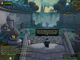 World of WarCraft: Mists of Pandaria - Mistr a jeden z jeho proslovů