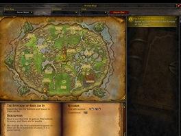 World of WarCraft: Mists of Pandaria - Mapa startovní zóny pand