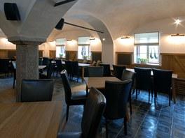 Restaurace ve starém lihovaru