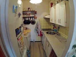 Kuchyňský kout má pět metrů čtverečních.