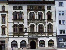 Edelmann�v pal�c na Horn�m n�m�st� v Olomouci.