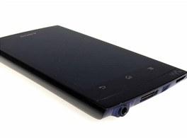 Walkman NWZ-Z1050 nezapře systémem Android přítomností tří tradičních tlačítek